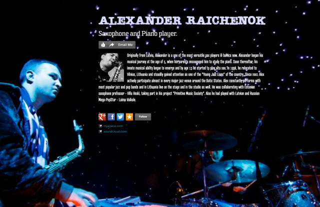 alexander raichenok on about.me