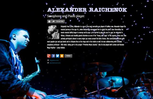 alexander raichenok on about.me