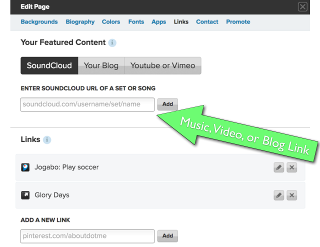 ScreenGrab- How to add content