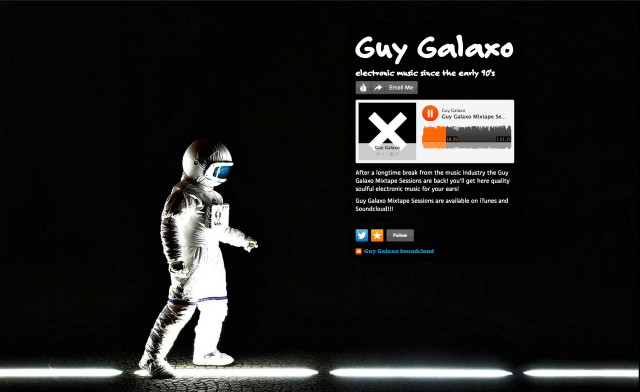 Guy Galaxo's about.me page