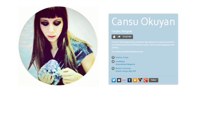 Cansu Okuyan on about.me