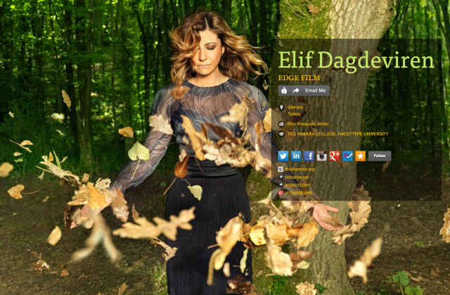 Elif Dagdeviren on about.me