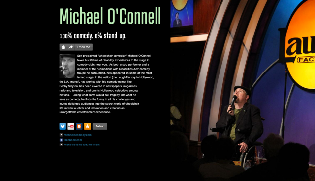 Michael O'Connell on about.me