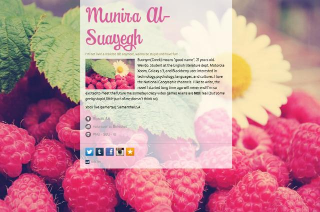 Munira Al-Suayegh on about.me