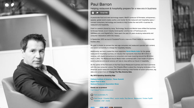 paul barron on about.me