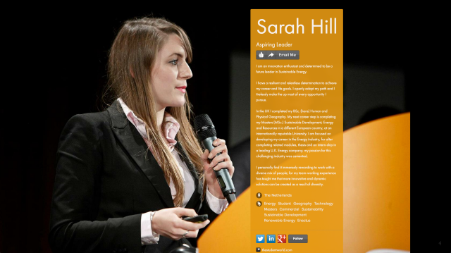 Sarah Hill on about.me