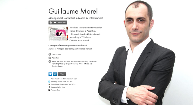 Guillaume Morel on about.me