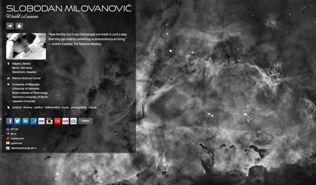 http://millovanovic.me/