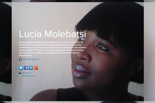 Lucia Molebatsi