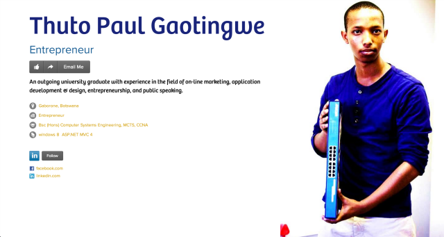Thuto Paul Gaotingwe