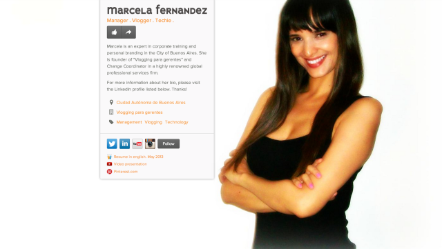 fernandez marcela on about.me