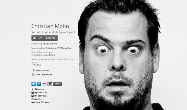 Christian Mohn on about.me