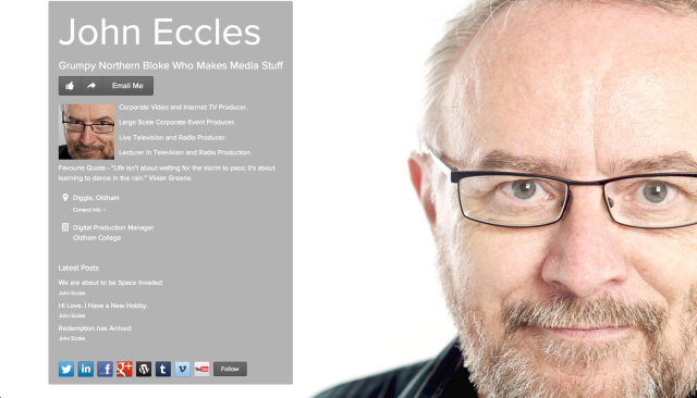 John Eccles on about.me