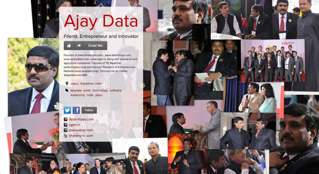 Anjay Data on about.me