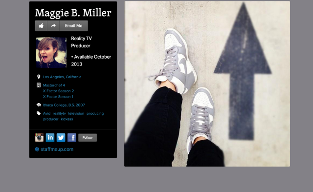 Maggie B. Miller on about.me