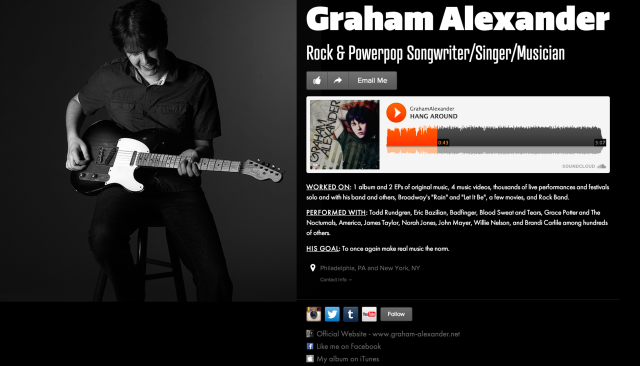 graham alexander on about.me