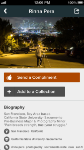 connect app screenshot