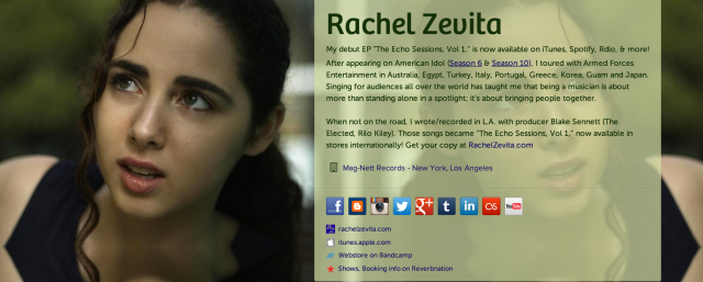 Rachel Zevita on about.me