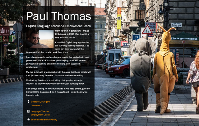 Paul Thomas on about.me