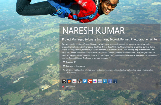 NARESH KUMAR on about.me