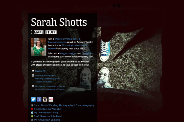 http://about.me/sarahshotts/