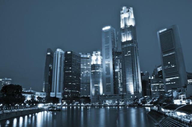 Singapore by Night - Cesare Tagliaferri