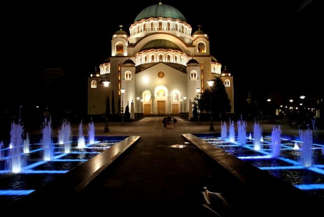 Belgrade by Night by Andrea Lehner