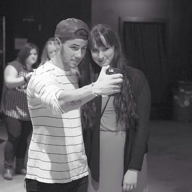 Jacklyn and Nick Jonas.