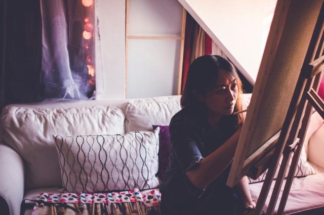 Elaine Wong Painting