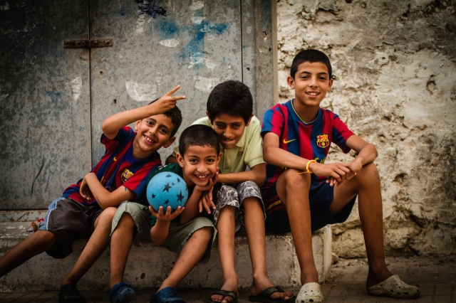 Marques Anderson-Kids in Barca jerseys
