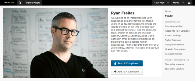 Ryan Freitas Dashboard image